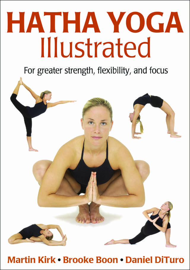 Hatha Yoga Illustrated Cover