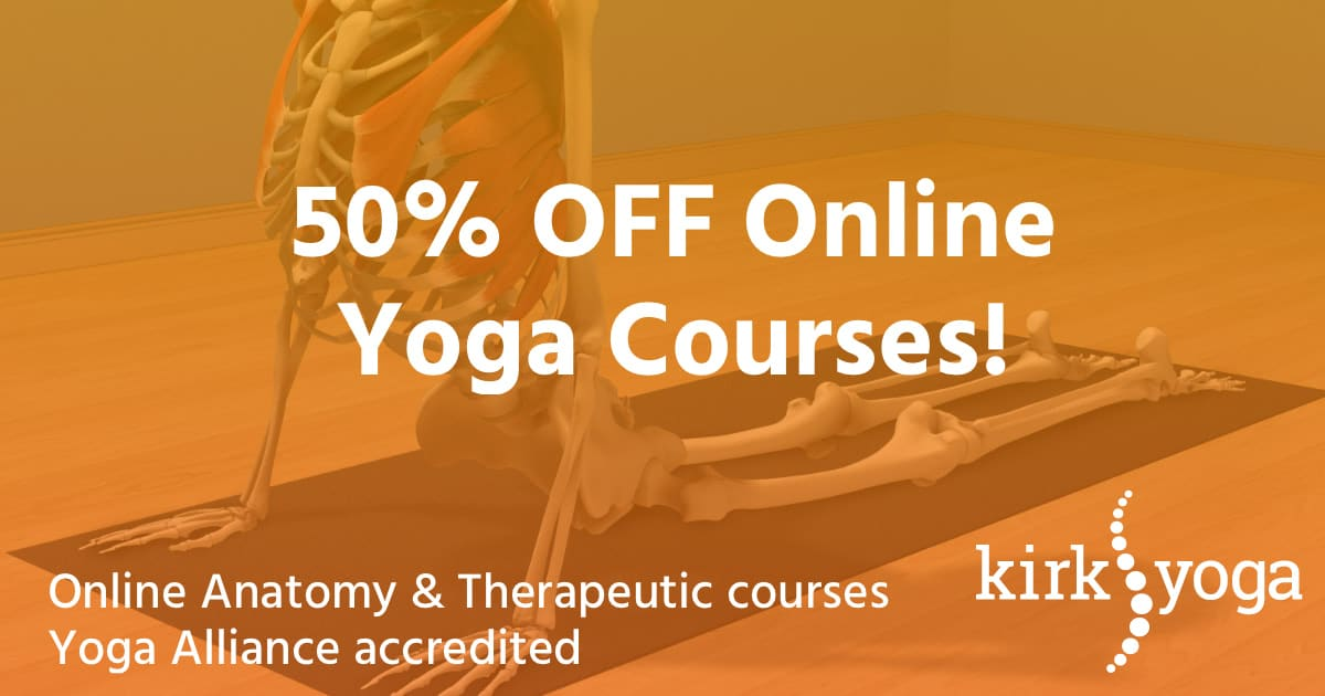 50% Off Yoga Courses